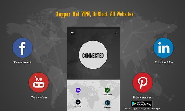 Super VPN Free-Super Fast VPN Proxy Unblock Master apk screenshot