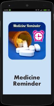 Medicine Reminder Alarm poster