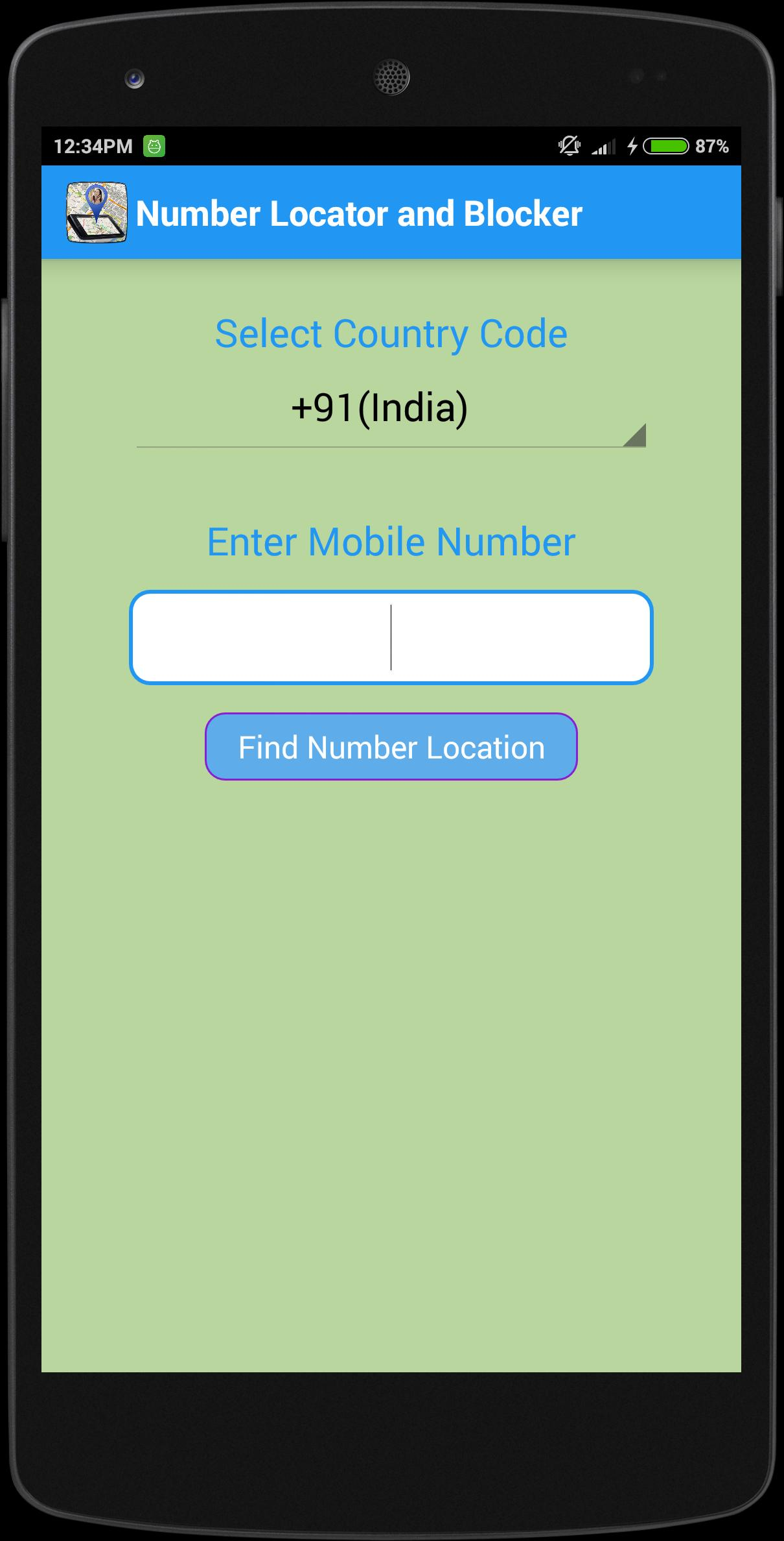 Phone Number Tracker & Block for Android - APK Download