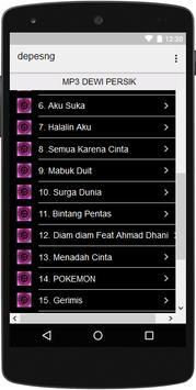 DEWI PERSIK MP3 screenshot 1