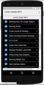 LAGU ANAK MP3 apk screenshot