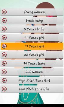 Girls Voice Changer UniQue screenshot 3