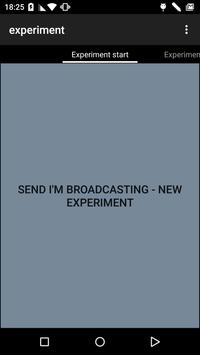 space experiment poster