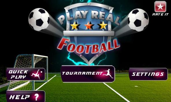 Play Real Football 2015 poster