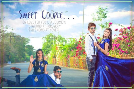Pre Wedding Photo Editor 2017 Poster Apk Screenshot