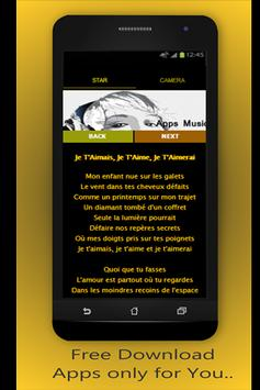 Best Lyrics Francis Cabrel screenshot 2