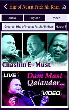 Hits of Nusrat Fateh Ali Khan screenshot 4
