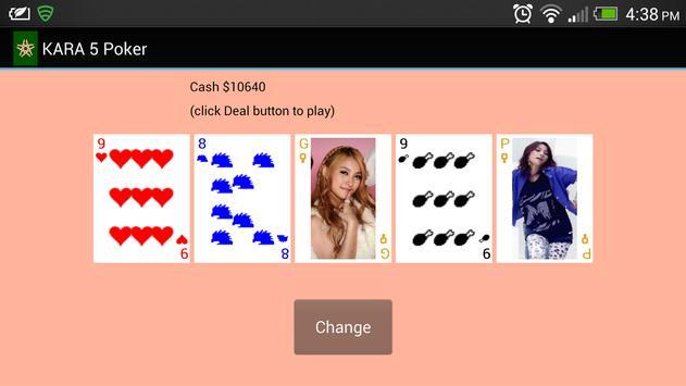 KARA 5 Poker apk screenshot