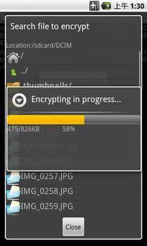 Secret File Locker apk screenshot