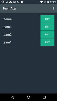 TeamApp apk screenshot