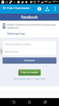 facebook telecharger video apk
