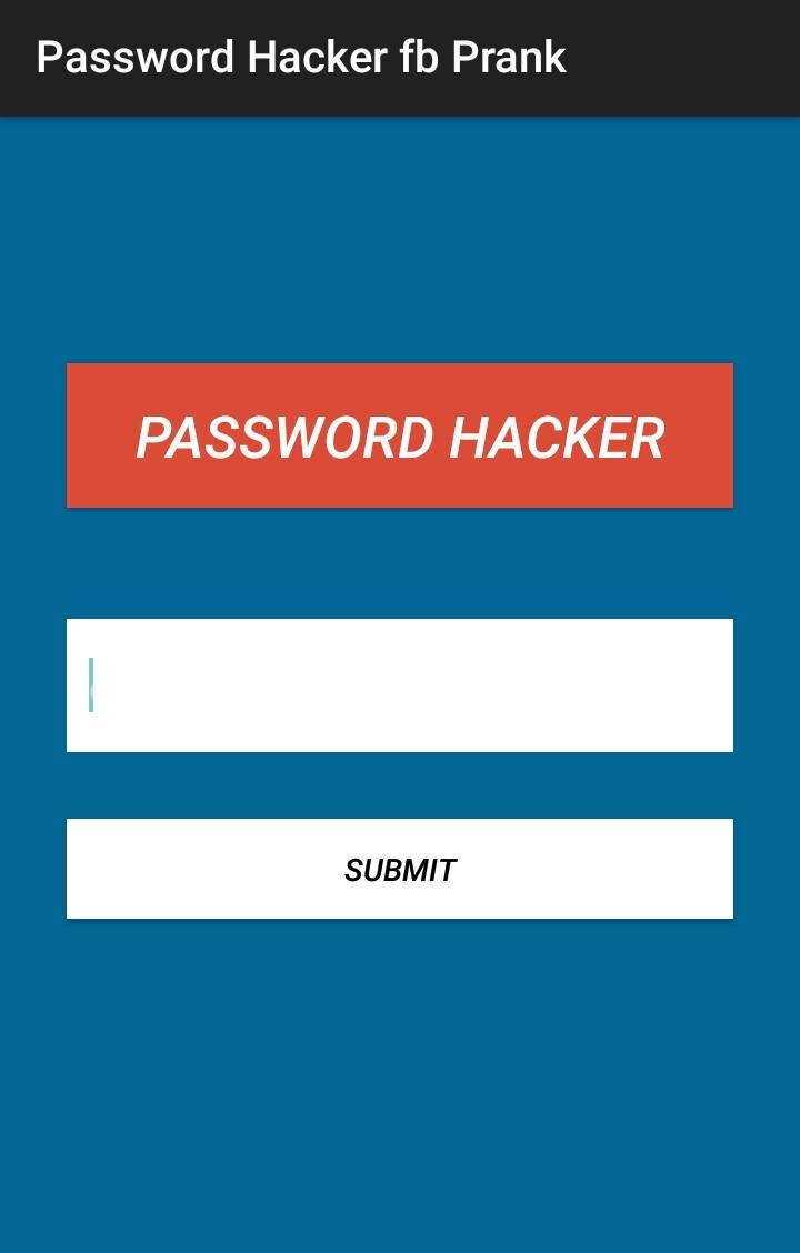 Password Fb Hacker Prank for Android - APK Download