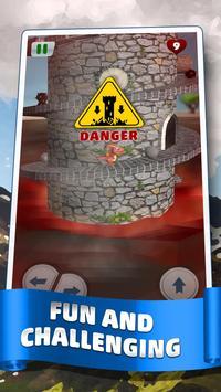 🏰 Dragon Climb - Spiral Tower poster