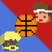 Pixel Sports: Basket icon