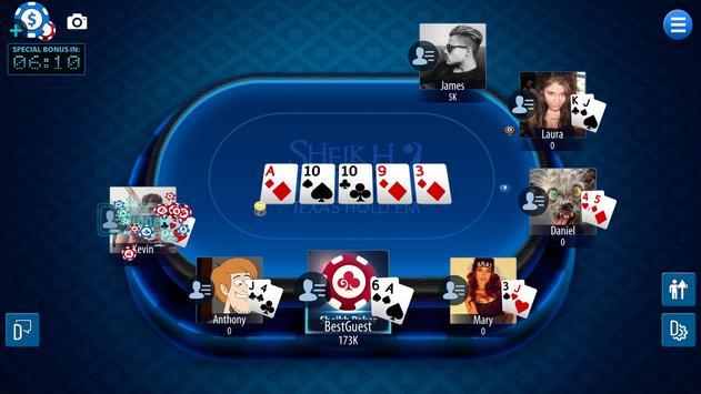 Sheikh Poker screenshot 3