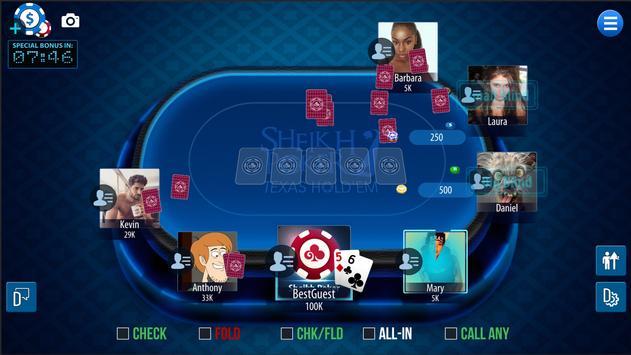 Sheikh Poker screenshot 2