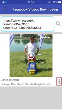 Facebook Video Downloader screenshot 4