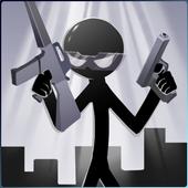 Stickman Shooting Board icon