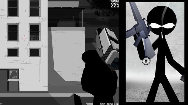 Stickman Shooting Board screenshot 1