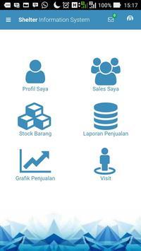 Shelter Sales Monitoring screenshot 1