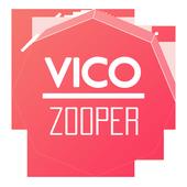 Vico - Zooper Widget Skin icon
