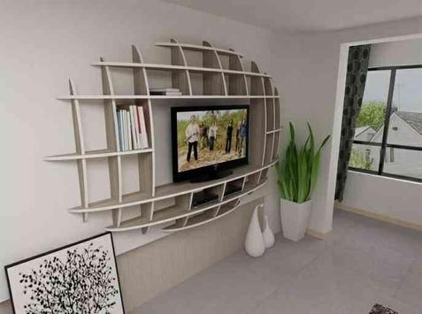 Shelves TV Furniture | Best Interior Designs screenshot 4