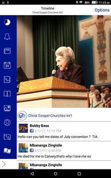Christ Gospel Churches Int'l screenshot 6