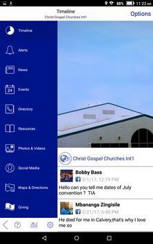 Christ Gospel Churches Int'l screenshot 9