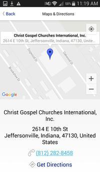 Christ Gospel Churches Int'l screenshot 3