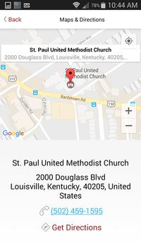 St. Paul Church Louisville apk screenshot