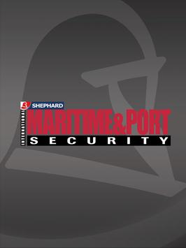 Int Maritime & Port Security poster