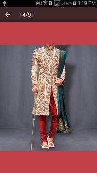 Sherwani Kurta  Designs 2016 screenshot 1