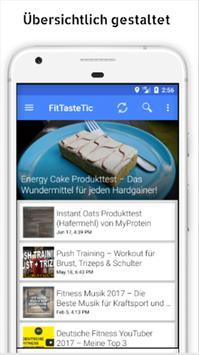 Gesund und Fit - Fitness Ratgeber by Fittastetic screenshot 2