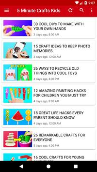 5 Minute Crafts Kids For Android Apk Download