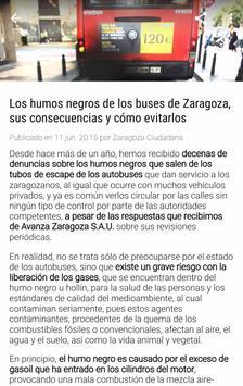 Zaragoza Ciudadana screenshot 3