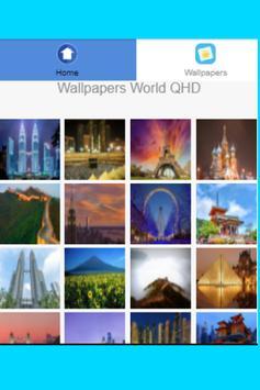 Wallpapers World QHD screenshot 1