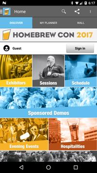 Homebrew Con 2017 apk screenshot