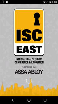 ISC East poster