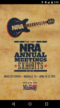 NRA Annual Meetings & Exhibits poster