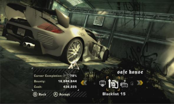 New PPSSPP Need For Speed Most Wanted Tips Cartaz