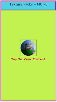 Texture Packs - MC PE apk screenshot