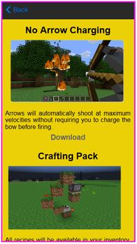 Mods For MC PE poster