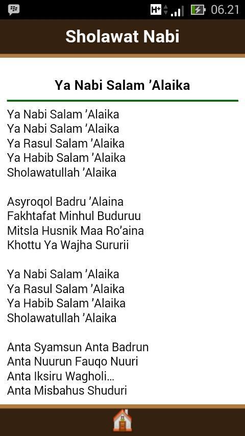 Shalawat Nabi For Android Apk Download
