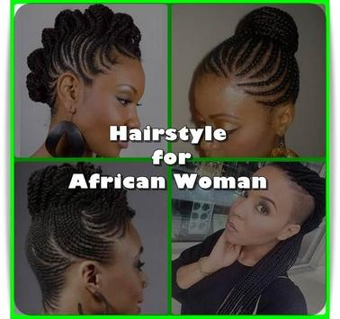 African Women Hairstyle poster