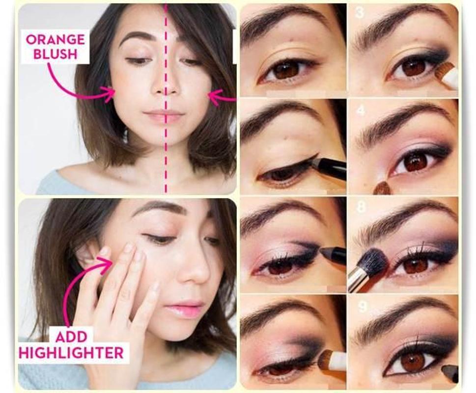 Easy Korean Makeup poster Easy Korean Makeup screenshot 1 ...