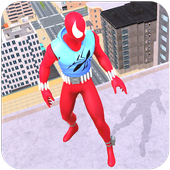Amazing Spider Super Hero Rope Rescue Mission ícone