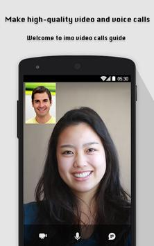 Free imo video call chat guide screenshot 1