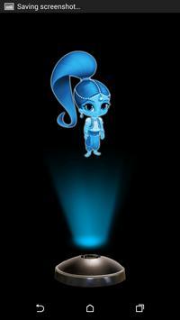 Shimmer Shine Hologram 3D Simulator poster