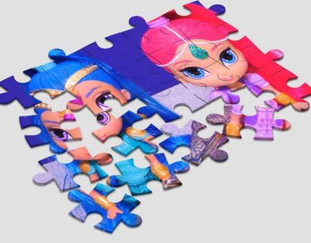 Jigsaw Shimmer Shine poster