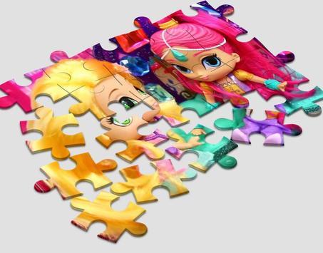 Jigsaw Shimmer Shine screenshot 1